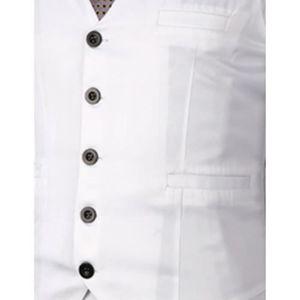 649ec3197222 Boom Fashion Slim fit Gilet Veston Veste Costume Sans Manches Homme Branché(chemise  Non inclus)