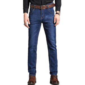 9836cd3f2c369 Homme jeans Pantalon regular tapered stretch mince stretch coupe ...