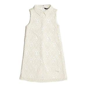 ROBE Guess Robe Fille J81K06 Blanc ...