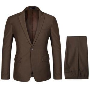 Costume marron homme - Achat   Vente Costume marron Homme pas cher ... af59ebd6595