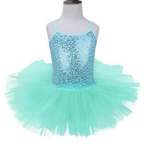4db793a2cf6 TUTU - JUSTAUCORPS 4-8 Ans Enfant Fille Justaucorps de Danse Ballet G