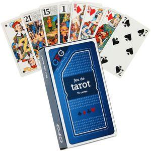 CARTES DE JEU Jeu de Tarot Luxe 78 cartes é jouer sous étui