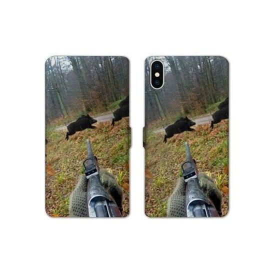 coque iphone x chasse