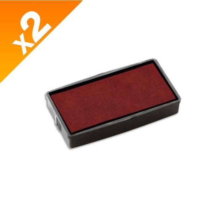 Colop - 2 encriers E20 rouge pour printer 20