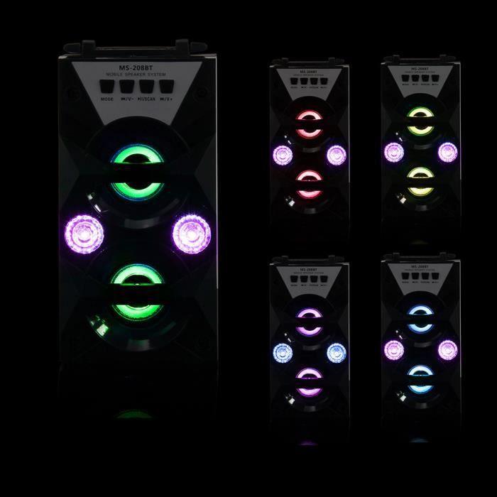 Extérieur Sans Fil Bluetooth Haut-parleur Portable Super Bass Avec Radio Usb - Tf Aux Fm *w476