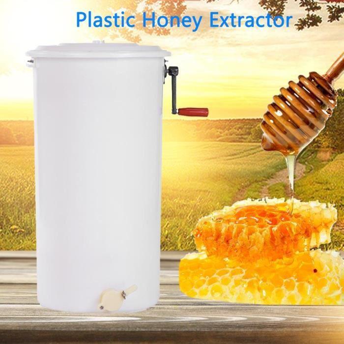 EXTRACTEURS Extracteur de miel de 2 cadres manuel en plastique