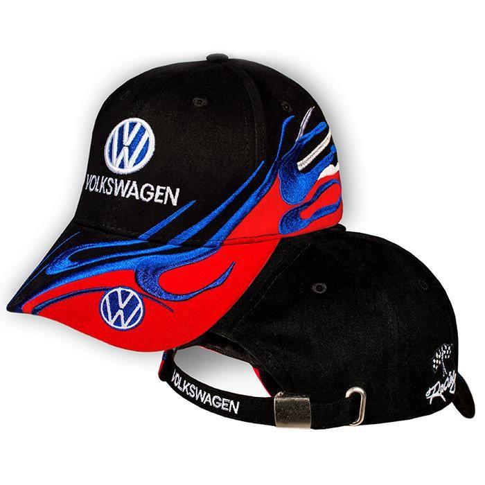 VW Volkswagen Multicolor Noir Rouge Casquette de Baseball Auto Logo Brodé  3D Chapeau Réglable Cap Cadeau Coton Homme Femme Unisexe e47e82ace93f