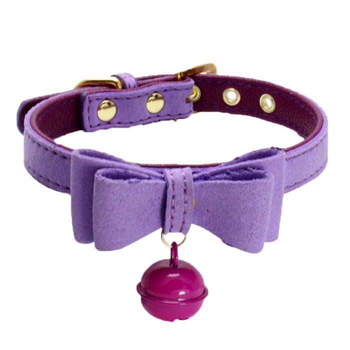 Cuir Réglable Avec Bell Pet Puppy Collier Pour Chien Pp - S Ycc70711555pps_109