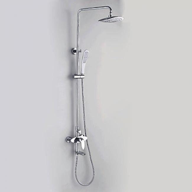 lookshop® robinet de douche et baignoire avec douchette en pluie 8 ... - Robinet De Baignoire Avec Douchette