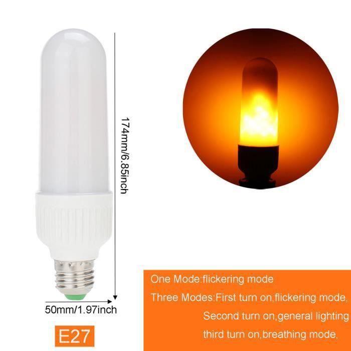 La Modèle Maïs De Feu 1 Lumière Nature Lampe Noël Pcs Décoration Ampoules Effet Simulé Flamme E27 Led Un zq1wTzP