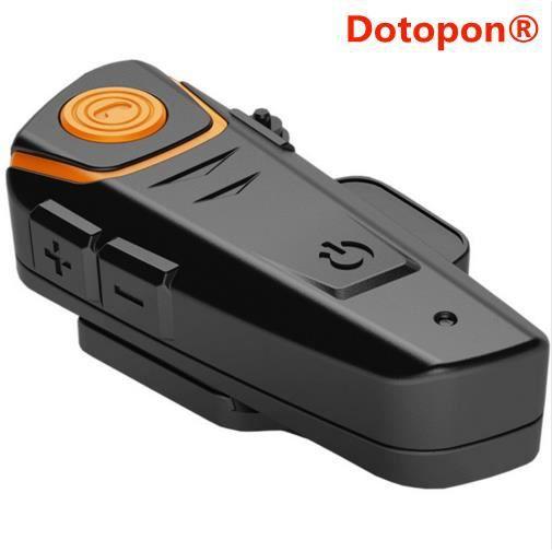 Dotopon®multi Bt Interphone 1000 M Moto Bluetooth Casque Intercom Intercomunicadores Talkie Walkie