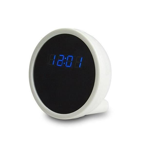 Dotopon®hd 1080p P2p Wifi Mini Horloge Invisible Caméra Avec Détection De Mouvement Indoor Home Security Camera Enregistreur