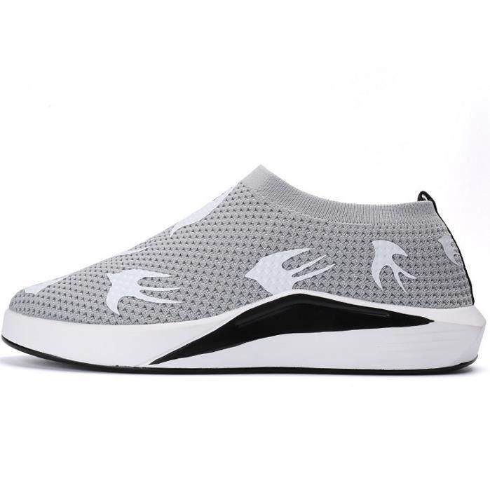 Haute qualité mode chaussures sport couples respirant chaussures de sport occasionnels
