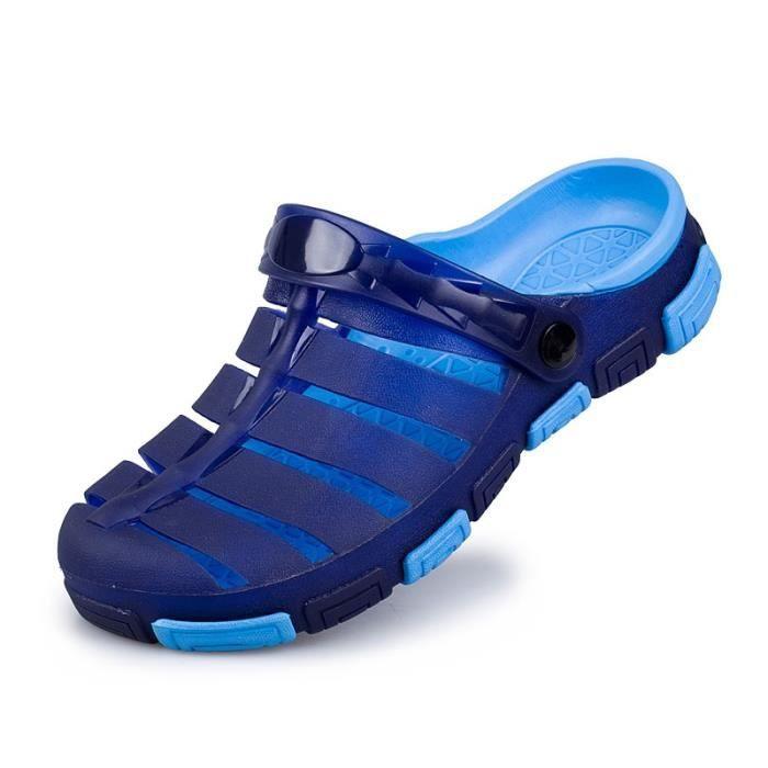 Nouveau design Sandales de plage pour les hommes Mode Massage Soles 4 couleurs
