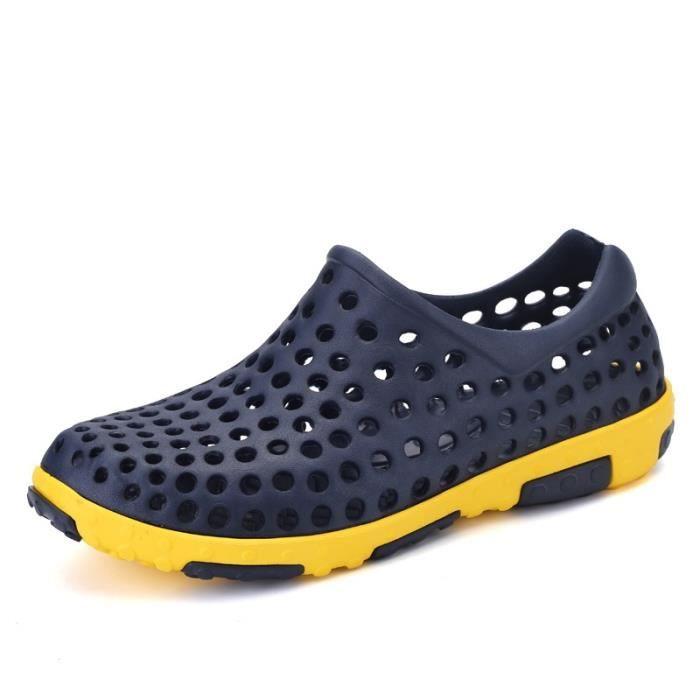 Outdoor printemps et en été Brown Chaussures Sandales Voyage hommes V4RWMr