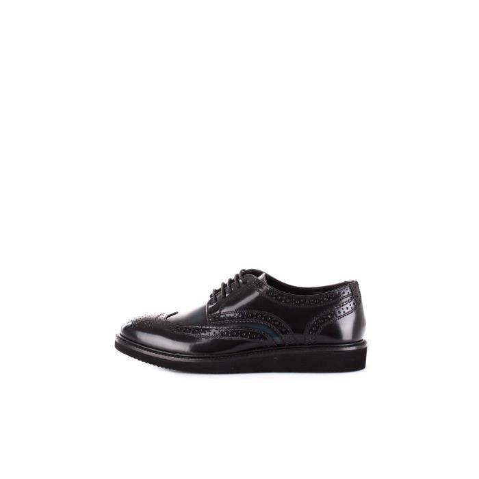 DERBY BASE LONDON Chaussures de ville Homme NOIR/NAVY