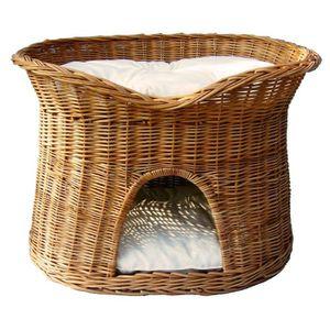 panier osier pour chat achat vente panier osier pour chat pas cher soldes d s le 10. Black Bedroom Furniture Sets. Home Design Ideas