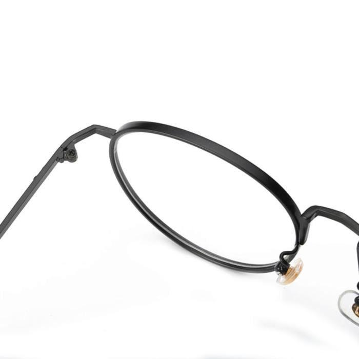 Lunettes de soleil lentilles claires lunettes métal Frame Lunettes @Lunette 303