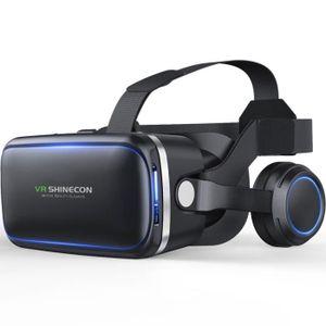 LUNETTES 3D Sept générations de lunettes de jeu de réalité vir