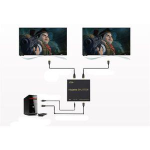 ADAPTATEUR AUDIO-VIDÉO  Juce® Splitter HDMI SOWTECH(TM) Répartiteur 2 Port
