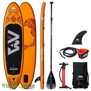 STAND UP PADDLE Stand Up Paddle gonflable FUSION avec pompe haute