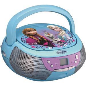 RADIO CD ENFANT REINE DES NEIGES CD Boombox Lecteur CD avec un mic