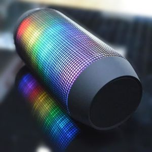 ENCEINTE NOMADE Enceinte Portable Bluetooth avec Jeux de Lumière L