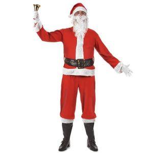 efe84be83d9bc DÉGUISEMENT - PANOPLIE Costume Père Noel Deluxe taille M 6 pieces - Dégui