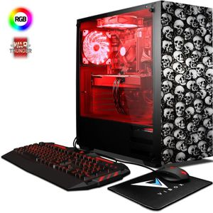 UNITÉ CENTRALE  VIBOX Pyro GS860-11 PC Gamer - AMD 8-Core, Geforce