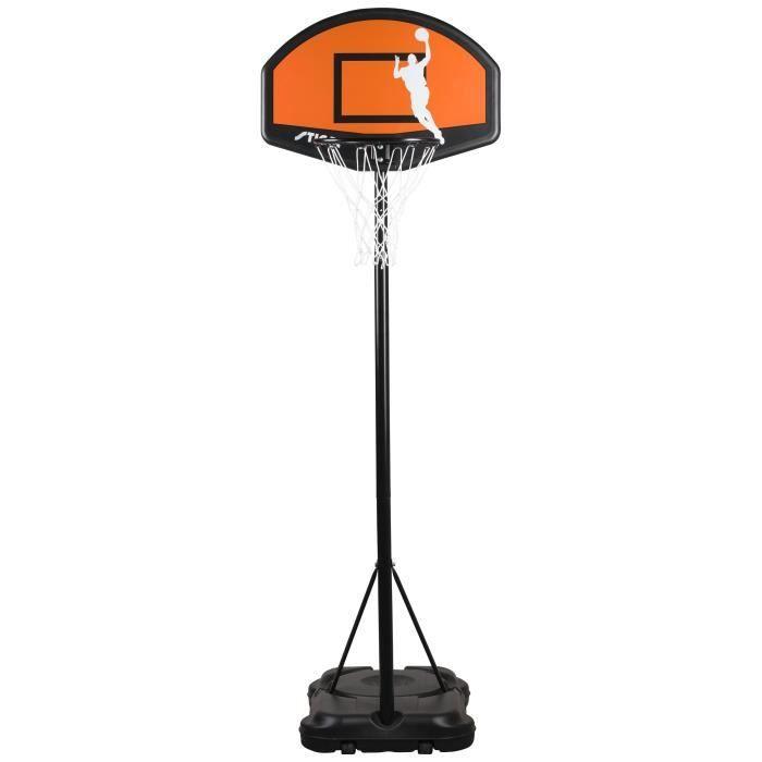 STIGA Panier de basket-ball Slam 30 - 1.65 à 2.2m