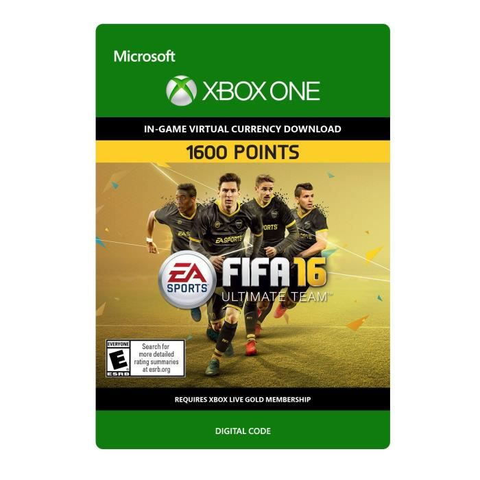 DLC FIFA 16 Ultimate Team: 1600 Points pour Xbox One
