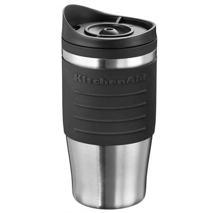 KITCHENAID 5KCM0402TMOB Mug pour cafetière 5KCM0402 - Noir Onyx