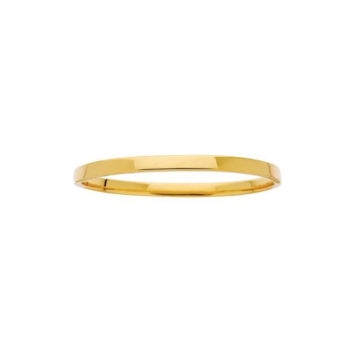 Bracelet jonc or jaune 18 carats
