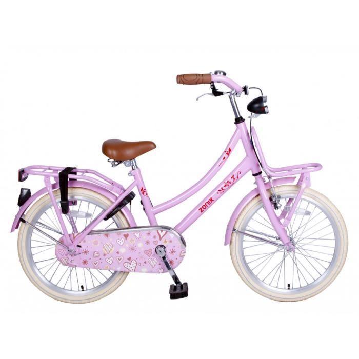 Vélo Fille Zonix Oma 20 Pouces Frein à Rétropédalage Rose 85% Assemblé 4afdf2840bc9