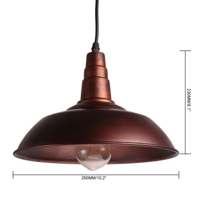 Lumières pendentif Bougeoir N'est Luminaires l'ampoule Lampe Luminaires Pas Inclu Edison Loft Vintage Plafond Industriel Retro usine ulKF3T1Jc