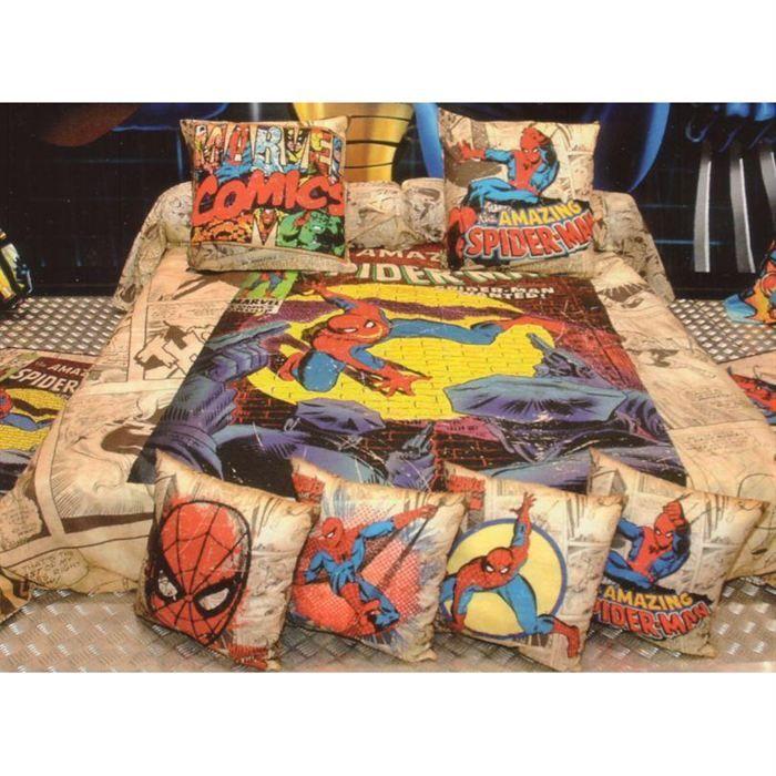 linge de lit marvel Parure de lit adulte marvel comics 240x220 cm   Achat / Vente  linge de lit marvel