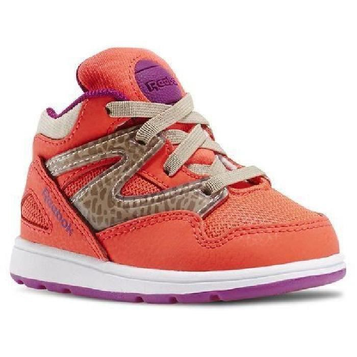 basket reebok enfant orange