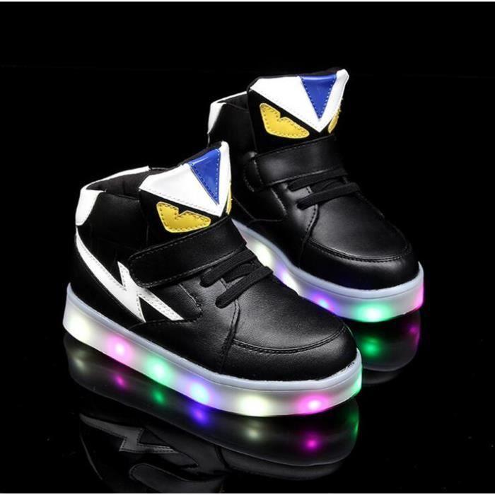 chaussures de lumière led petites chaussures de monstre lumières pour enfants