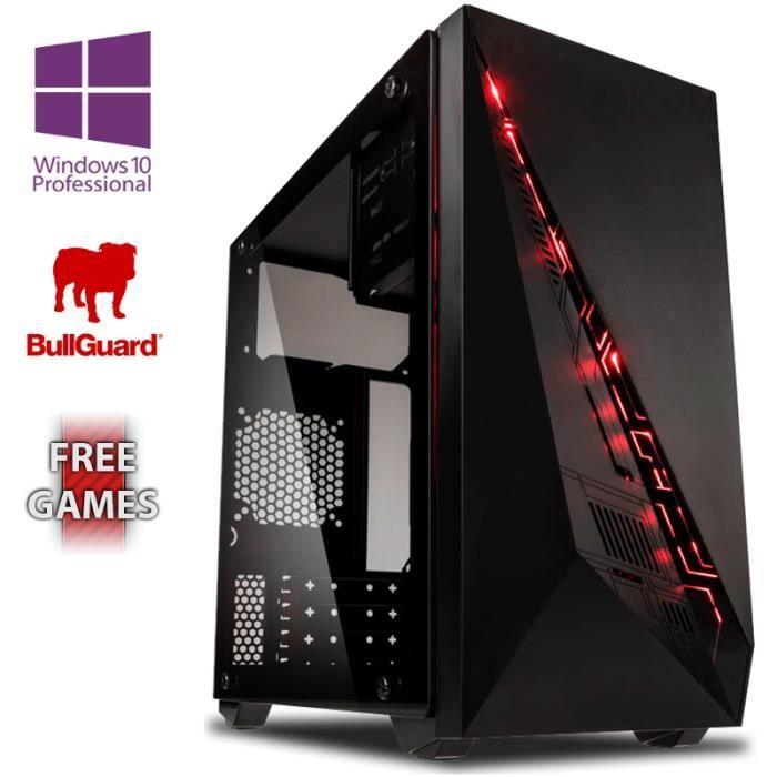 UNITÉ CENTRALE  VIBOX Delta 50 PC Gamer Ordinateur avec War Thunde