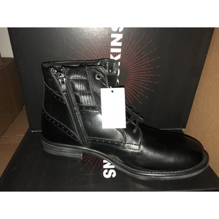 Chaussures Hommes Redskins Unlimited noir