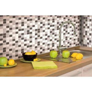 carrelage adhesif cuisine achat vente carrelage. Black Bedroom Furniture Sets. Home Design Ideas