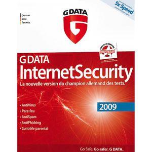 BUREAUTIQUE G DATA Internet Security 2009