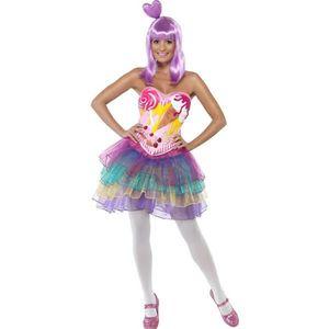 DÉGUISEMENT - PANOPLIE Costume Reine des Bonbons - Taille S
