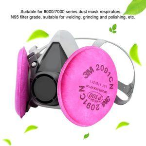 LUNETTE - VISIÈRE CHANTIER Filtre anti-poussière respirateur en coton 2091 P1