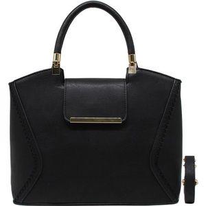 Blancho Literie Femmes [Trendy S # 1] Sac en cuir PU Fashion élégant Sac fourre-tout noir Real Vente Pas Cher Large Gamme De Réduction OMY6sXVU
