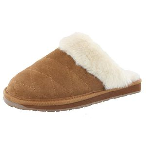 CHAUSSON - PANTOUFLE Clarks Women's Ginger Quilted Open Back Slipper OH