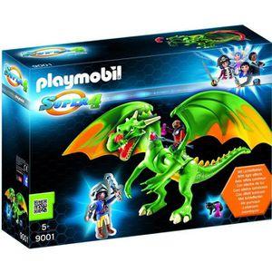 FIGURINE - PERSONNAGE Playmobil 9001 - Jeu - Dragon Médiéval Avec Alex
