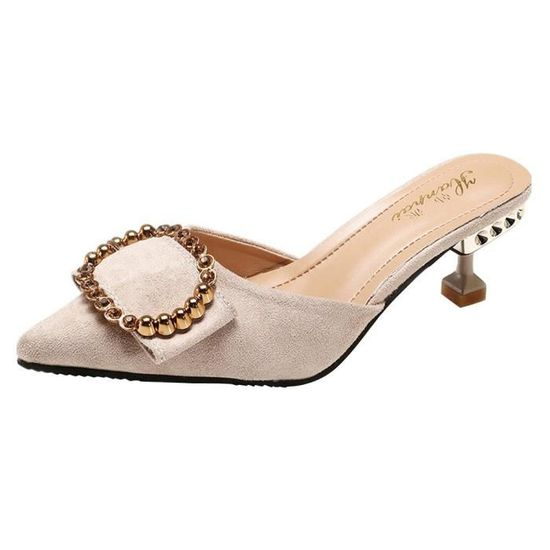 Beguinstore® Mode femme Flats Bout Rond Slip-on Butterfly-Knot Casual Chaussures Confortables Noir_love4327 Beige Beige - Achat / Vente slip-on
