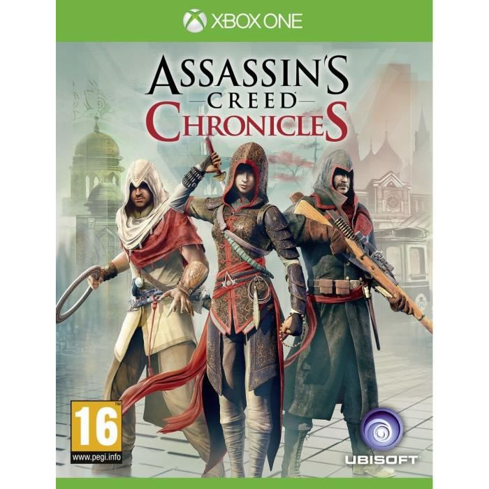 Assassin's Creed Chronicles Trilogie Jeu Xbox One