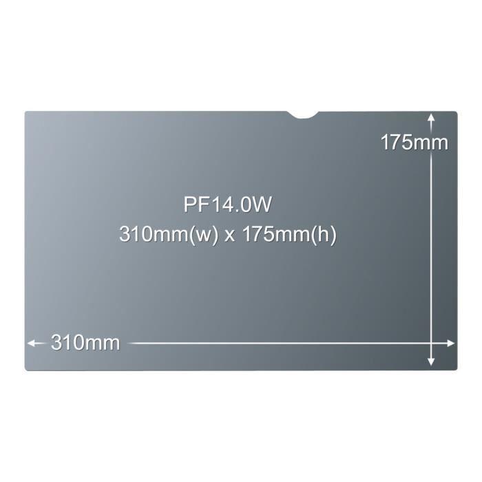 FILM PROTECTION ÉCRAN Filtre de confidentialité 3M pour ordinateur porta 64e46750c0d1